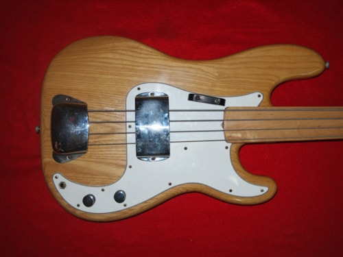 1974 Fender® Fretless Precision