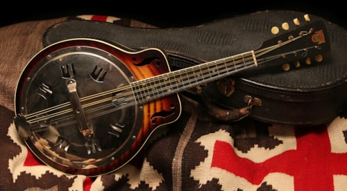 ~1938 Dobro Model 250 Resonator Mandolin