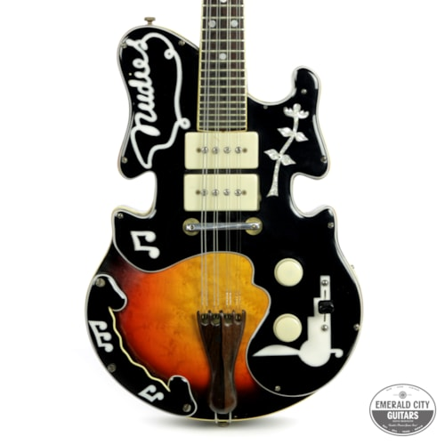 1953 Mosrite Electric Mandolin made by Semie Moseley for Nudie Cohen