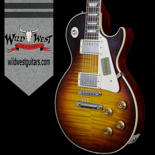 2016 Gibson 2016 Gibson Custom Shop Standard Historic Les Paul R9 VOS Faded Tobacco 1959 Reissue 8.8 Pounds