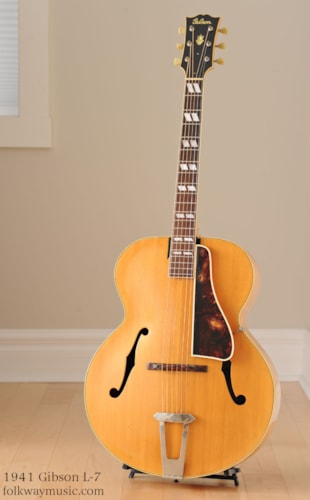 1941 Gibson L-7