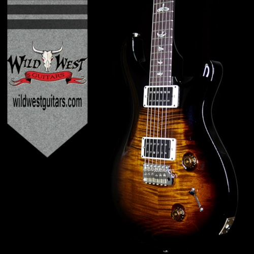 2017 PRS - Paul Reed Smith PRS Paul Reed Smith Custom 22 Rosewood Fretboard Black Gold Black Wrap Burst