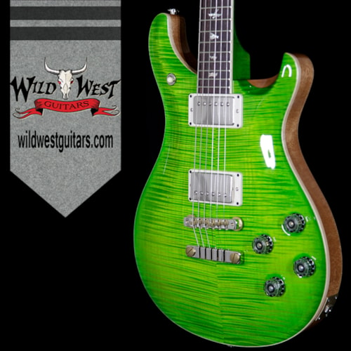 2017 PRS - Paul Reed Smith PRS Paul Reed Smith Flame 10 Top McCarty 594 Stained Flame Maple Neck Rosewood Fretboard Eriza Verde