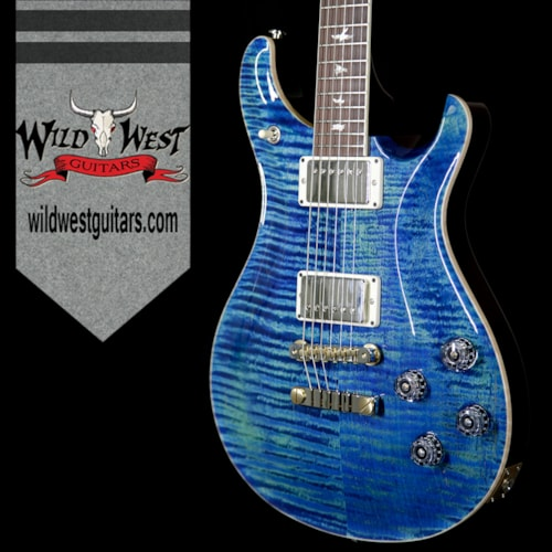 2017 PRS - Paul Reed Smith Paul Reed Smith PRS Flame Maple Top McCarty 594 Brazilian Rosewood Fretboard River Blue