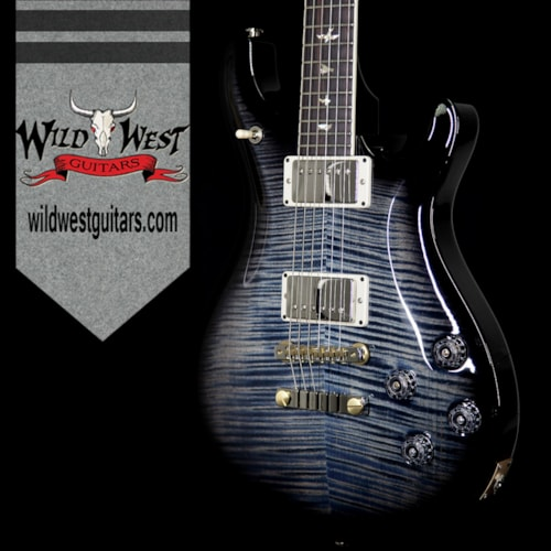 2017 PRS - Paul Reed Smith PRS Paul Reed Smith Flame Maple 10 Top McCarty 594 Rosewood Fretboard Faded Whale Blue Black Burst