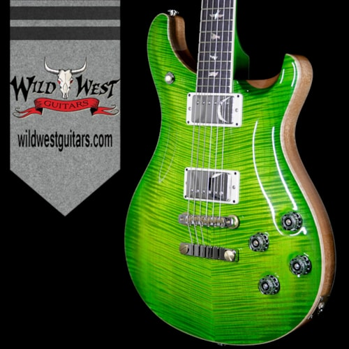 2017 PRS - Paul Reed Smith PRS Paul Reed Smith Flame 10 Top McCarty 594 Flame Maple Neck Rosewood Eriza Verde W/AP Paisley Case