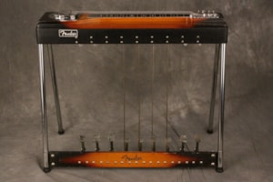1964 Fender® 400 PEDAL STEEL Guitar  w/9 pedals