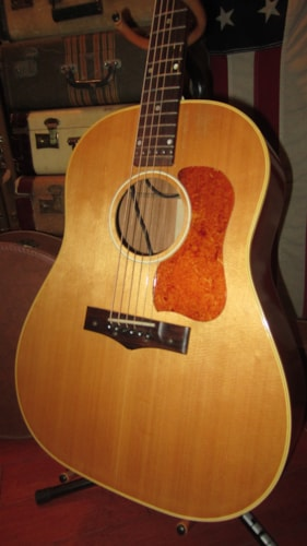 1957 National Model 1155 E Dreadnought Acoustic Electric