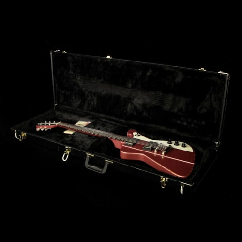 Wild Custom Guitars Firewild Electric Guitar Relic Burgundy Mist