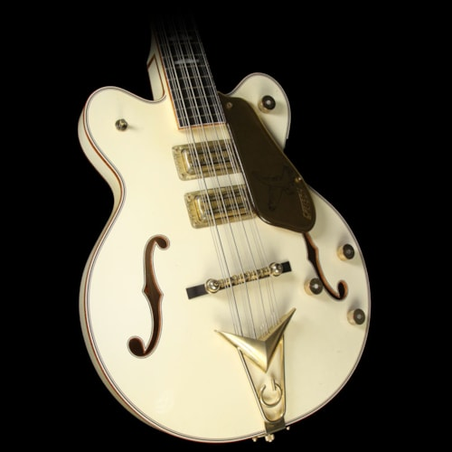 Gretsch Custom Shop Tom Petersson Signature White Falcon Relic 12-String Electric Bass