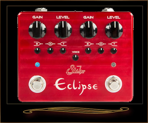 Suhr Eclipse Dual Overdrive and Distortion Pedal