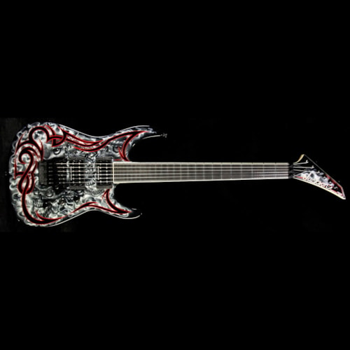Jackson Used Jackson Custom Shop SL2H FR Soloist  Electric Guitar Mike Learn Graphic