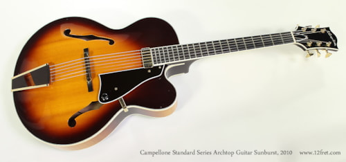 2010 Campellone Standard Series 17 Inch Cutaway