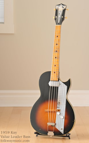 1959 Kay Value Leader Bass