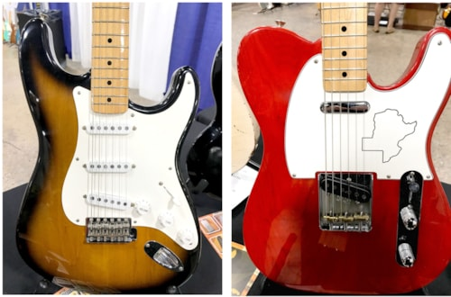 Fender® Matching Set Texas Special™ Stratocaster® and Telecaster®