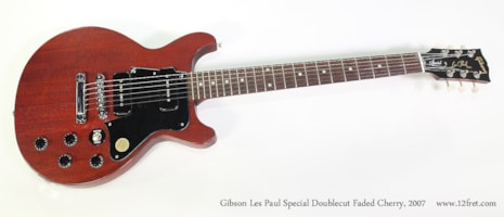 2007 Gibson Les Paul Special Doublecut Faded