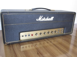 1967 MARSHALL VINTAGE PLEXI JMP45/50w HEAD EXCELLENT!