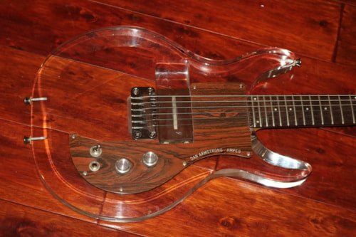 1970 Ampeg  Dan Armstrong, See-Thru Lucite guitar