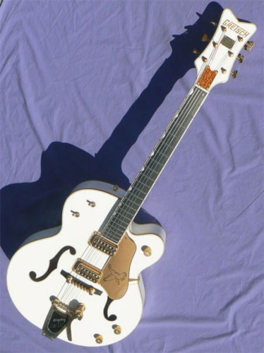 2006 Gretsch White Falcon, All Factory Tags