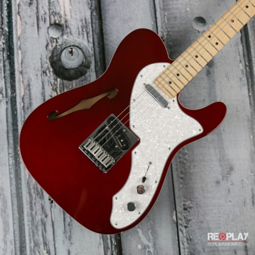 Fender® Deluxe Telecaster® Thinline - Candy Apple Red