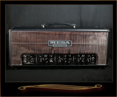 Mesa Boogie TC-50 Head with Maple Front Panel