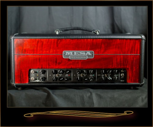 Mesa Boogie TC-50 with Private Reserve Flame Maple Front Panel