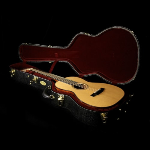 Martin Custom 000-18 12-Fret Quilted Mahogany Acoustic Guitar Natural