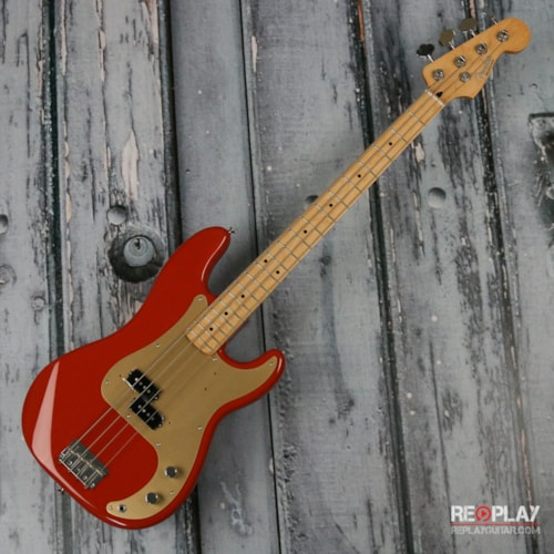 Fender® '50s Precision Bass® - Fiesta Red