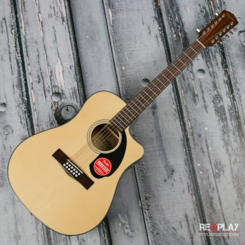 Fender CD-60SCE 12-string Acoustic Guitar