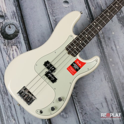 Fender® - American Professional Precision Bass® - Olympic White