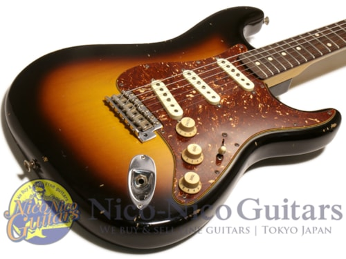 2015 Fender® Custom Shop MBS '59 Stratocaster® Relic® by Jason Smith