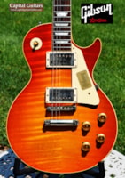 2016 Gibson True Historic Aged 59 LP 8.2 lbs!