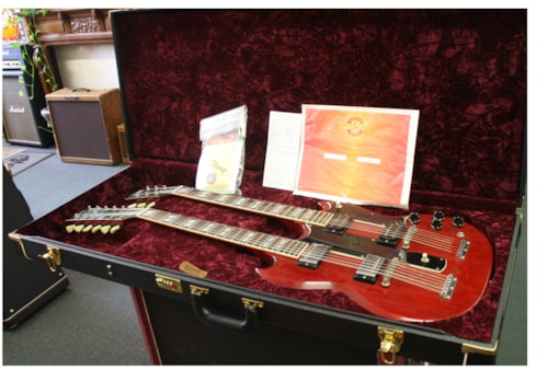 2007 Gibson  ED1275 Jimmy Page Double neck