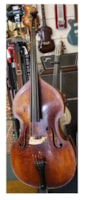 1950 German Carved Standup Bass