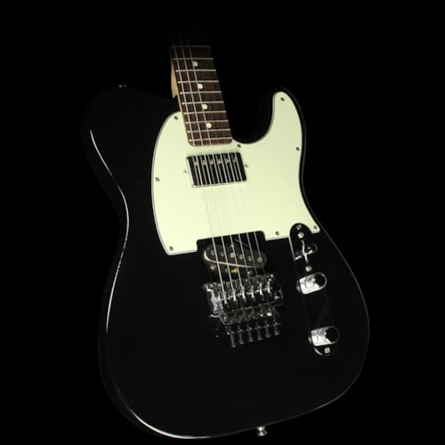 Fender® Custom Shop Music Zoo Exclusive ZF Telecaster® Electric Guitar Black