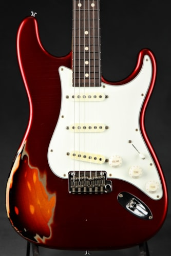 Suhr Classic Antique Pro Limited - Candy Apple Red Over 3 Tone Su