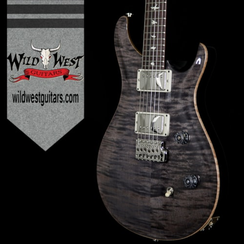 2017 PRS - Paul Reed Smith PRS Wild West Guitars Special Run CE 24 Flame Maple Top and 57/08 Pickups Grey Black 238551