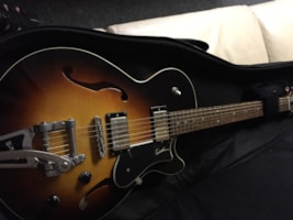 Godin montreal premiere with bigsby