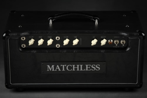 Matchless HC-30 - Head - Black/Silver Piping