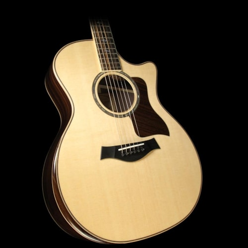 Taylor 814ce DLX Grand Auditorium Acoustic/Electric Guitar Natural