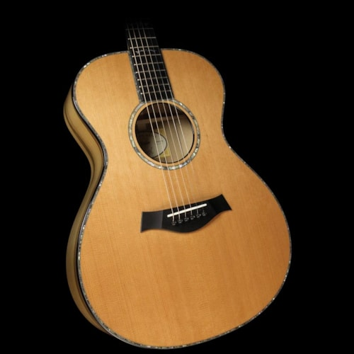 Taylor Custom Shop BTO Grand Concert Sassafras and Western Red Cedar Acoustic/Electric Guitar Natural