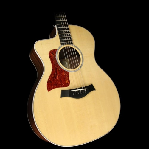 Taylor Used Taylor 214ce DLX LH Grand Auditorium Acoustic/Electric Guitar Natural