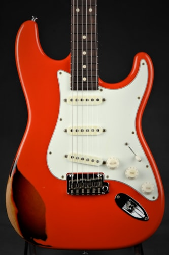 Suhr Classic Antique Pro Limited - Fiesta Red Over 3 Tone Sunburs