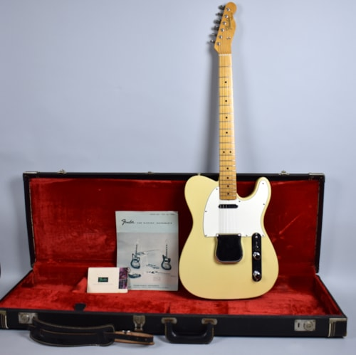 Fender Telecaster Original Vintage Olympic White Electric Guitar w/