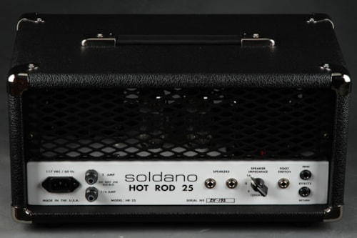 Soldano Hot Rod 25 - Head