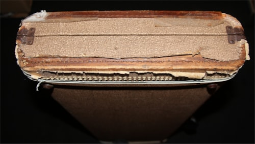 1959 Fender® Vintage Brown Case 1959-60
