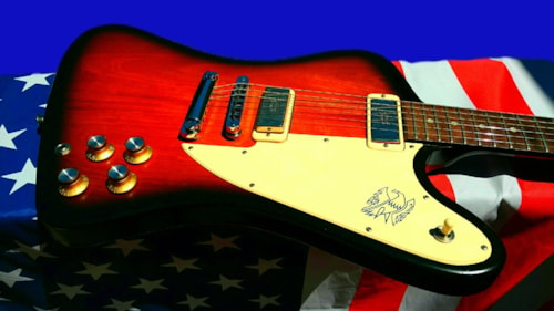 ~2012 Gibson Black Friday Sale Firebird 70's Tribute Feather Weight 7 lbs 4 ozs