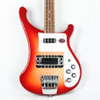 2016 Rickenbacker 2016  4003S FIREGLO Electric Bass Guitar! Dot Inla
