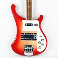 2017 Rickenbacker 2017  4003S FIREGLO Electric Bass Guitar! Dot Inla
