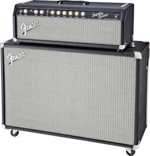2011 Fender® Super-Sonic™ head and 2x12 cab